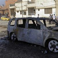 A string of bombings targeted Christian houses in Baghdad killing and wounding several people, police said. (AP Photo)
