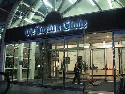 Boston Globe headquarters (Curt Nickisch/WBUR)