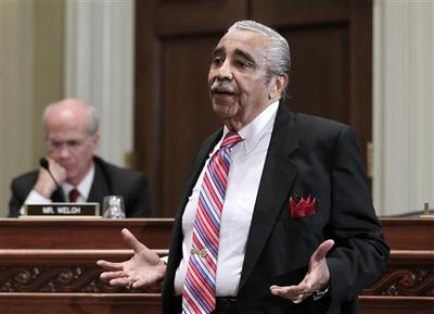 Rep. Charles Rangel, D-N.Y., appeared on Capitol Hill on Monday, Nov. 15, 2010, before the House Committee on Standards of Official Conduct. (AP)