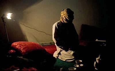 A veteran member of the Taliban speaks to The Associated Press in Afghanistan. (AP)
