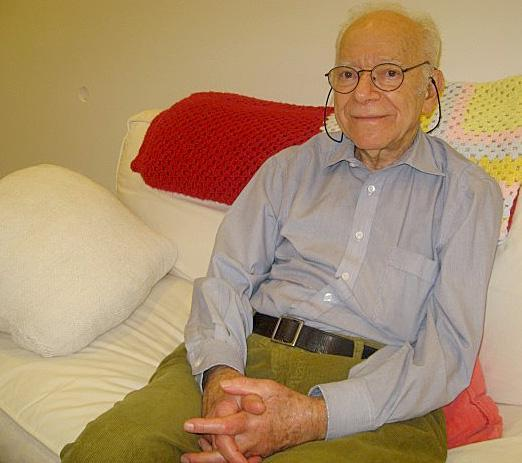 Martin Annis invented the backscatter X-ray technology used in full-body scanners. (Curt Nickisch/WBUR)