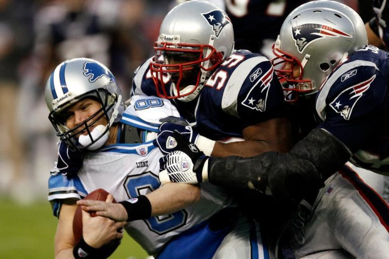 The Patriots sacked Lion