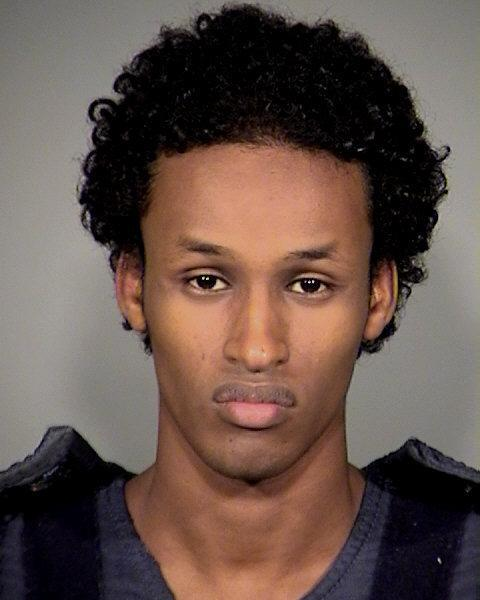 This image provided by the Mauthnomah County Sheriff's Office shows Mohamed Osman Mohamud, 19, arrested and charged with attempted use of a weapon of mass destruction. (AP Photo/Mauthnomah County Sheriff's Office)