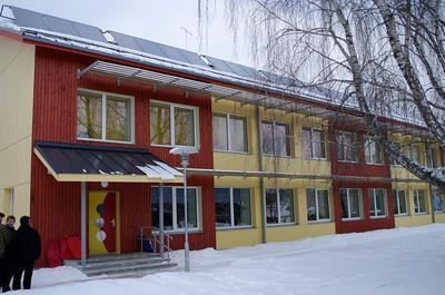A Kindergarten in Estonia that was refurbished using passive house standards.  Energy-efficient, highly-insulated passive homes  have been widely embraced in Europe and are just now becoming popular in the U.S. (Tonu Mauring/Flickr)