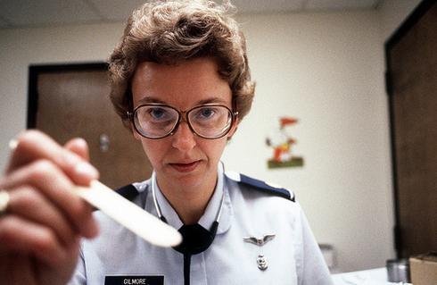 A U.S. army nurse practitioner