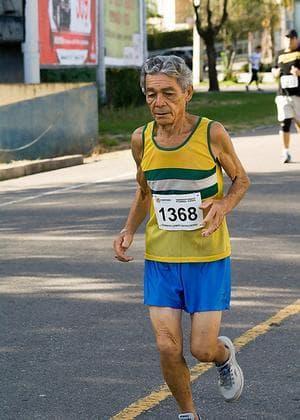 A 10K runner in Brazil