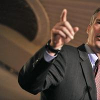 Scott Brown speaking at the Boston Chamber of Commerce on Nov. 15, 2010. (AP)