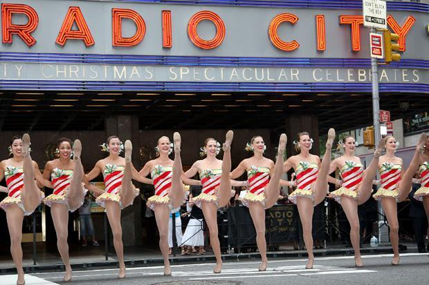 The Rockettes perform in New York City. (AP)