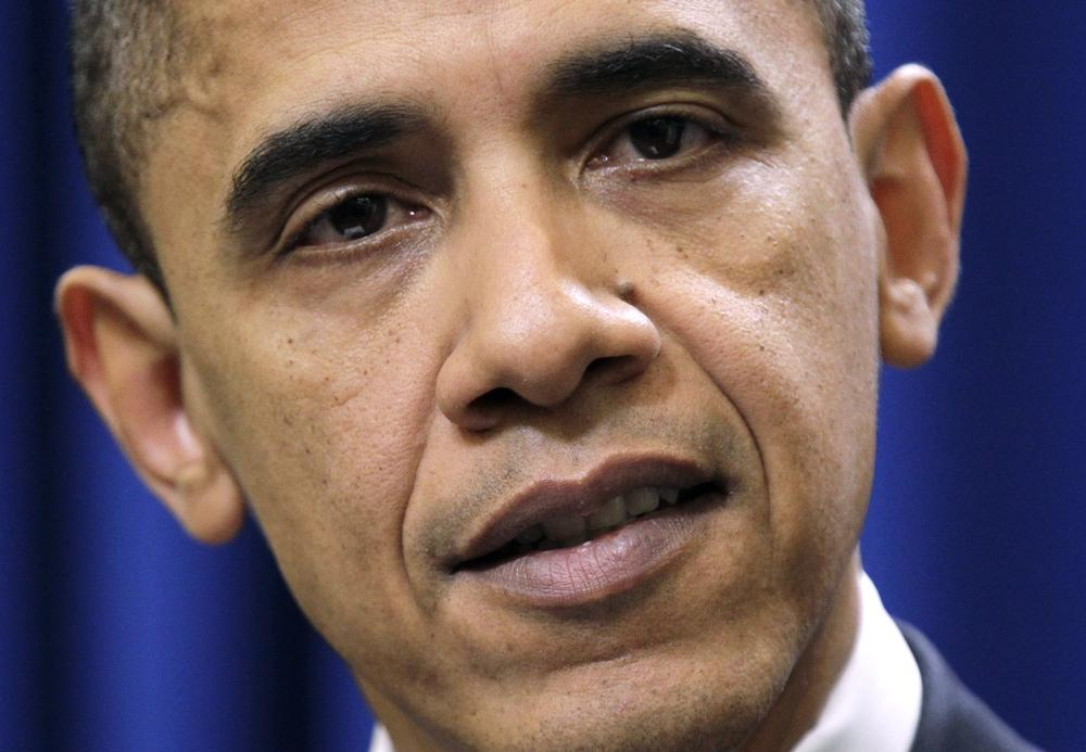 President Barack Obama makes statement in Washington after meeting with Democratic congressional leaders on a year-end bipartisan agreement to extend expiring tax cuts. (AP)