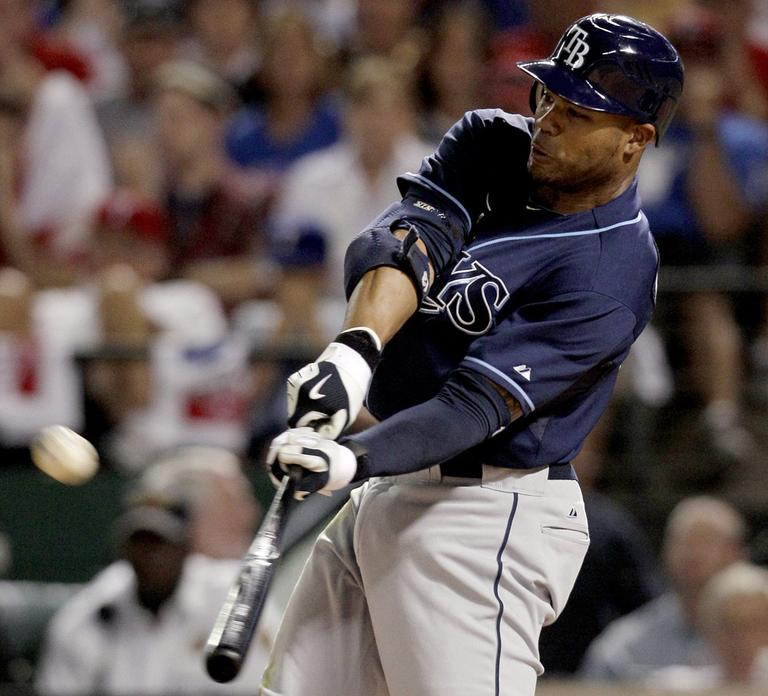Tampa Bay Rays left fielder Carl Crawford is a four-time All-Star and was a first-time Gold Glove winner this year. (AP)