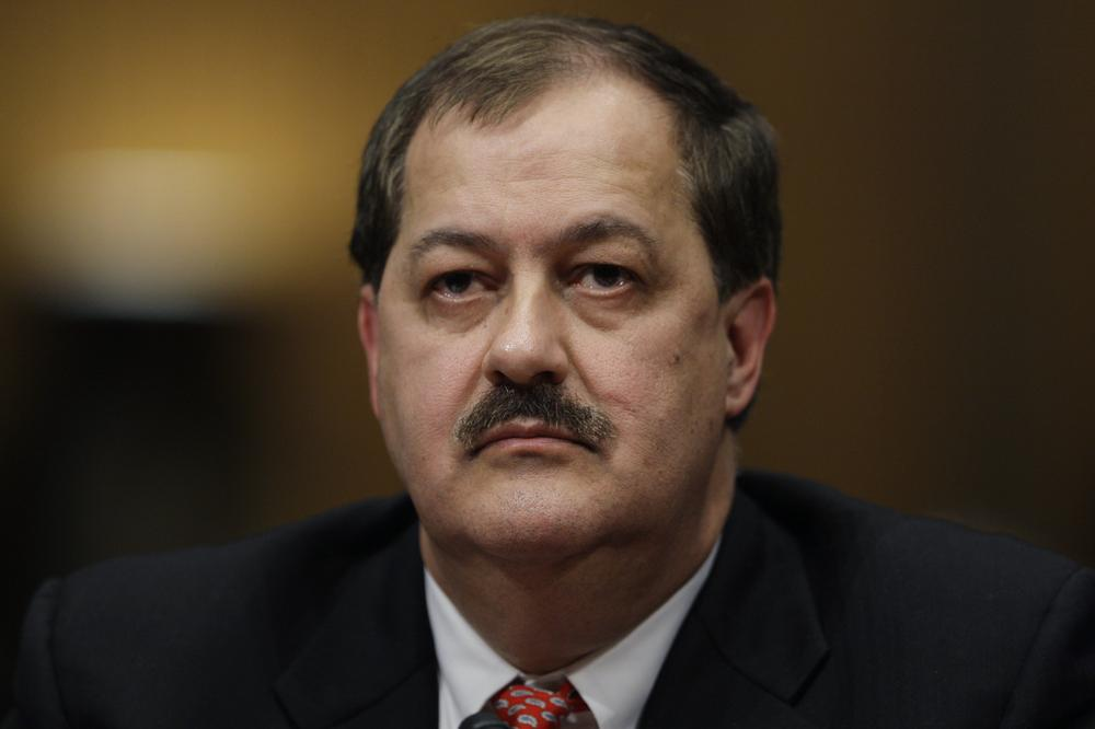 Massey Energy Company Chief Executive Officer Don Blankenship at a Senate Health and Human Services subcommittee hearing on mine safety. (AP)