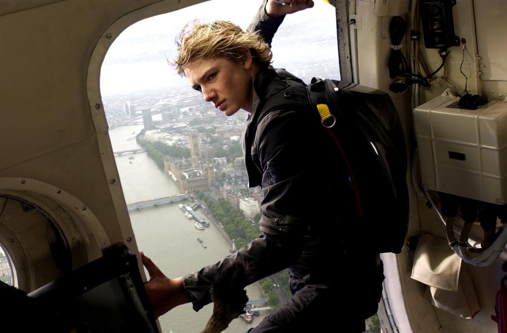 "Actor Alex Pettyfer plays Alex Rider, in the movie ""Alex Rider: Operation Stormbreaker,"" based on the novel, ""Stormbreaker,"" by author Anthony Horowitz. (AP)"