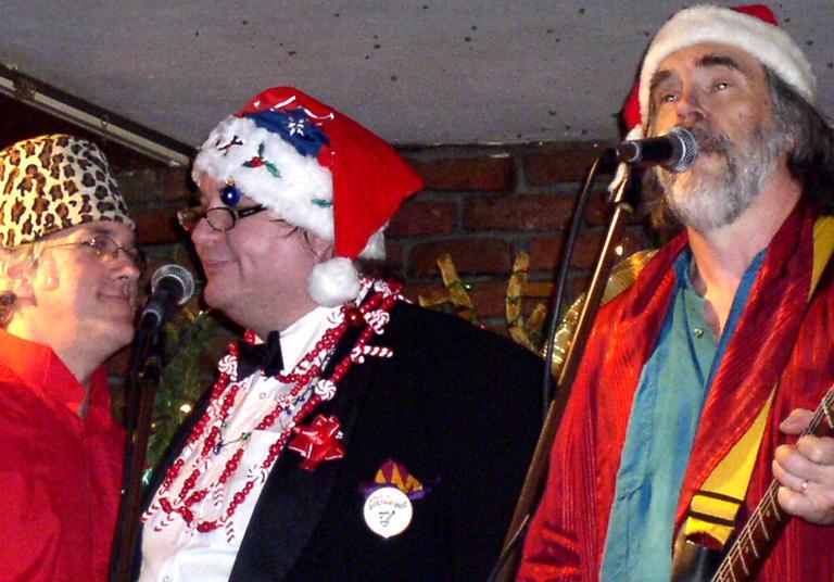 The Chandler Travis Philharmonic performing in 2006's Christmas Calvacade (Paul Cirincione/Courtesy CTP)