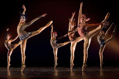 Performers in the Boston Conservatory Ballet (drgandy/Flickr)
