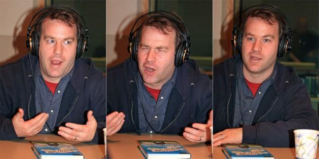 Comedian and author Mike Birbiglia. (Andrew Phelps/WBUR)