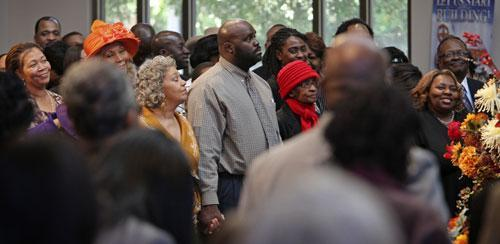 At the Ebenezer Baptist Church, Oct. 31, 2010, in Atlanta. (AP)