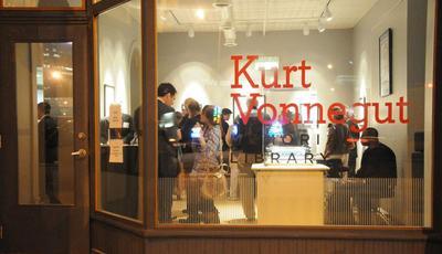 Kurt Vonnegut Memorial Library in Indianapolis, Ind. (Credit: Marc Leeds)