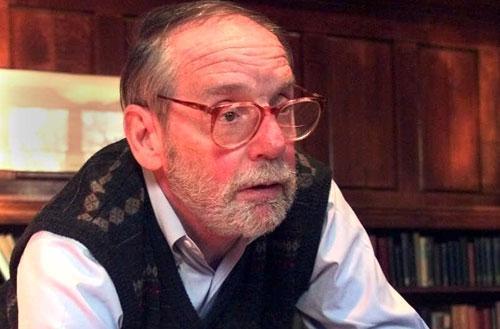 Princeton University Professor John McPhee, in Princeton, N.J., April 12, 1999. (AP)