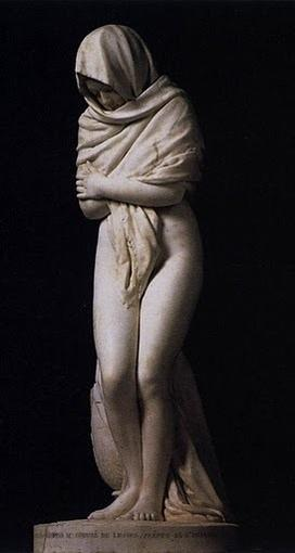 Winter, by Jean-Antoine Houdon