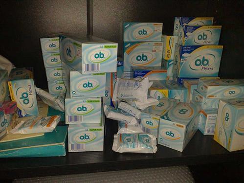 An o.b. stockpile