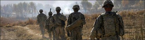 U.S. Army patrol in Afghanistan. (AP)