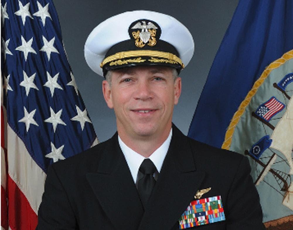 An official portrait of Navy Capt. Owen Honors. (AP/US Navy)