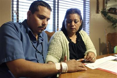 32-year-old Francisco Felix, left, is one of dozens of Arizona patients who need liver transplants but can't get them because of moneysaving budget cuts to the state's Medicaid system. (AP)