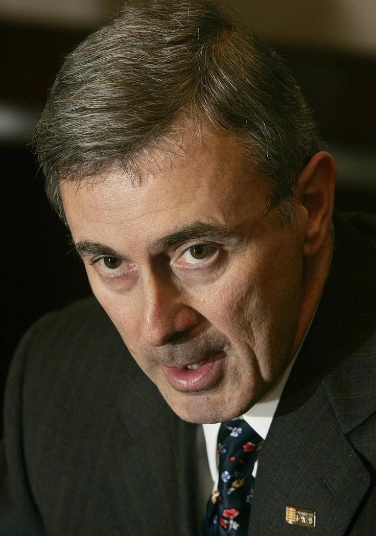 File photo of former Gov. and U.S. ambassador to Canada Paul Cellucci. (AP)