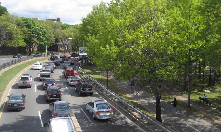 Traffic on Storrow Drive West (petrr/Flickr)