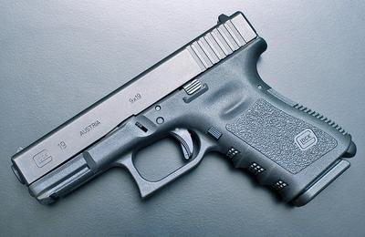 A semi-automatic Glock 19 pistol (Keith LaFaille/Flickr)
