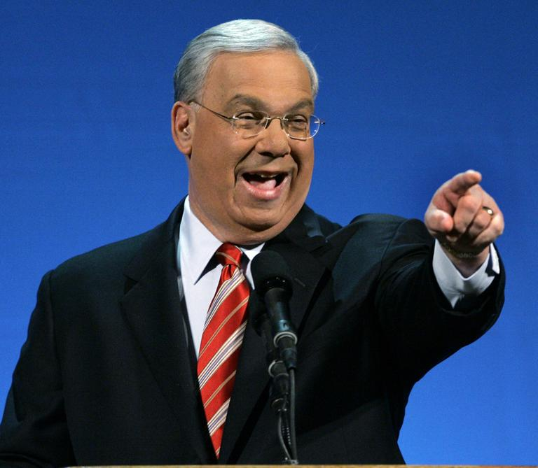 "Boston Mayor Thomas Menino gives his ""State of the City"" address in January, 2010. (AP)"