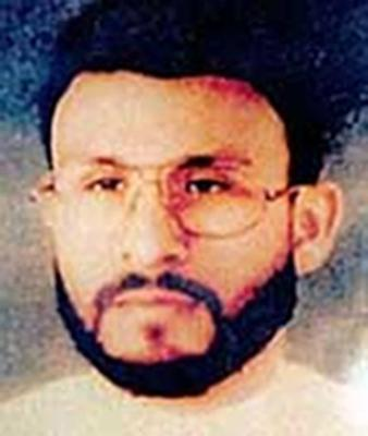 Abu Zubaydah, one of the many terrorism suspects held without charges in the Guantanamo Bay detention center.  (AP/U.S. Central Command, File)