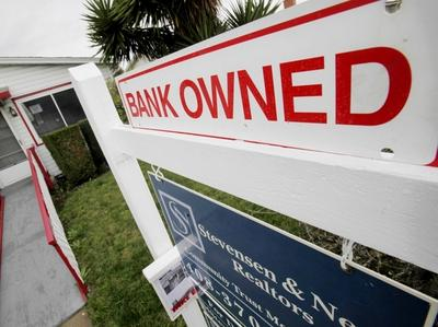 A foreclosed house in East Palo Alto, Calif. (AP)