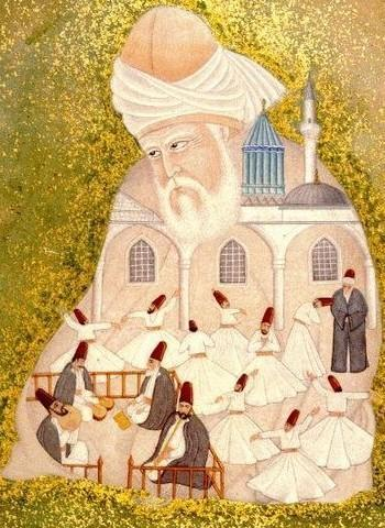 A painting of Rumi by Bilinmiyor.