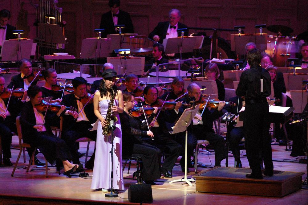 Grace Kelly performs with the Boston Pops, June 1, 2007. (Rich Moffitt/Flickr)