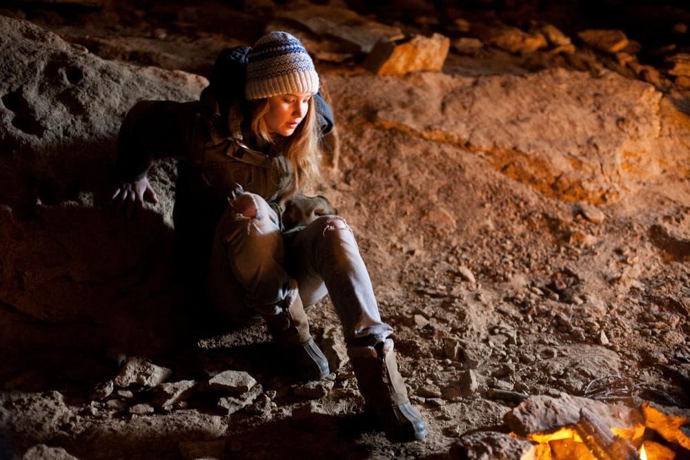 """Actress Jennifer Lawrence is shown in a scene from, """"Winter's Bone."""" (AP/Roadside Attractions)"""