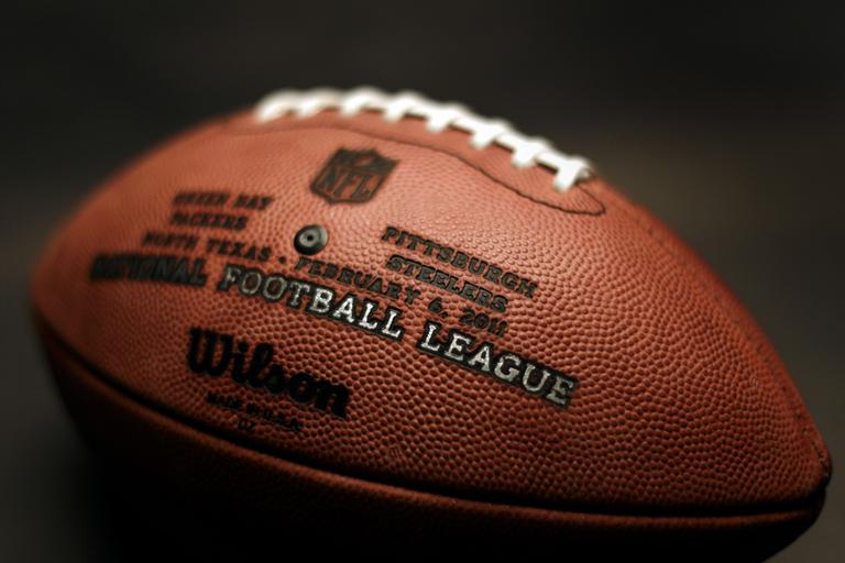 An official Super Bowl XLV football (AP)