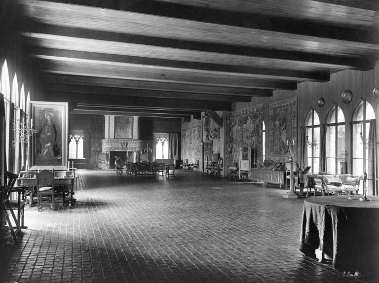 The Gardner's Tapestry Room, in 1926 (Courtesy T.E. Marr and Son/Gardner)