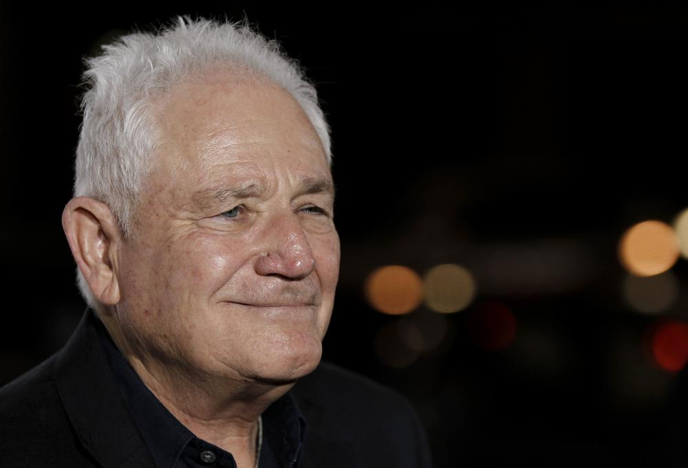 "Writer David Seidler arrives at a screening of ""The King's Speech"" in Los Angeles. (AP )"