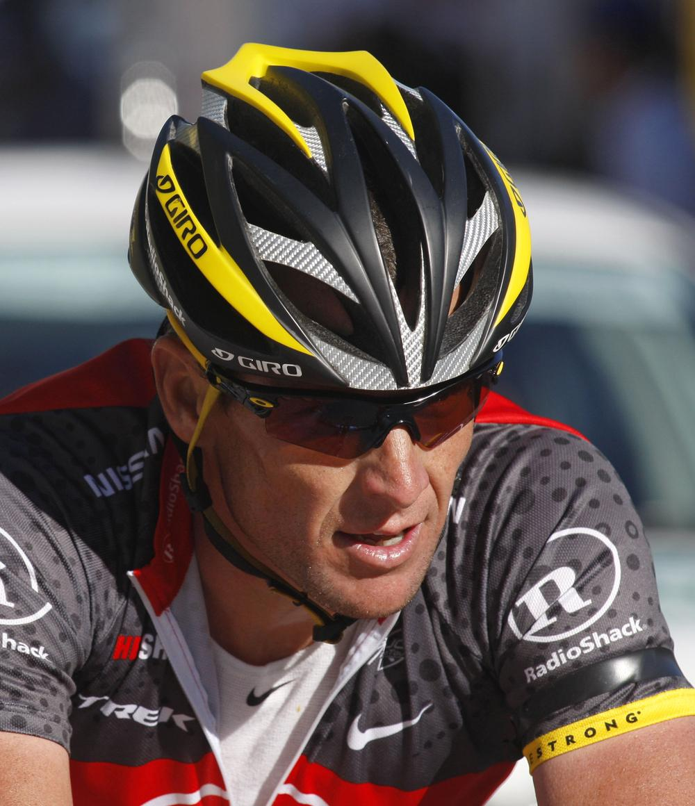 Seven-time Tour de France champion Lance Armstrong faces controversy in the twilight of his career. (AP)