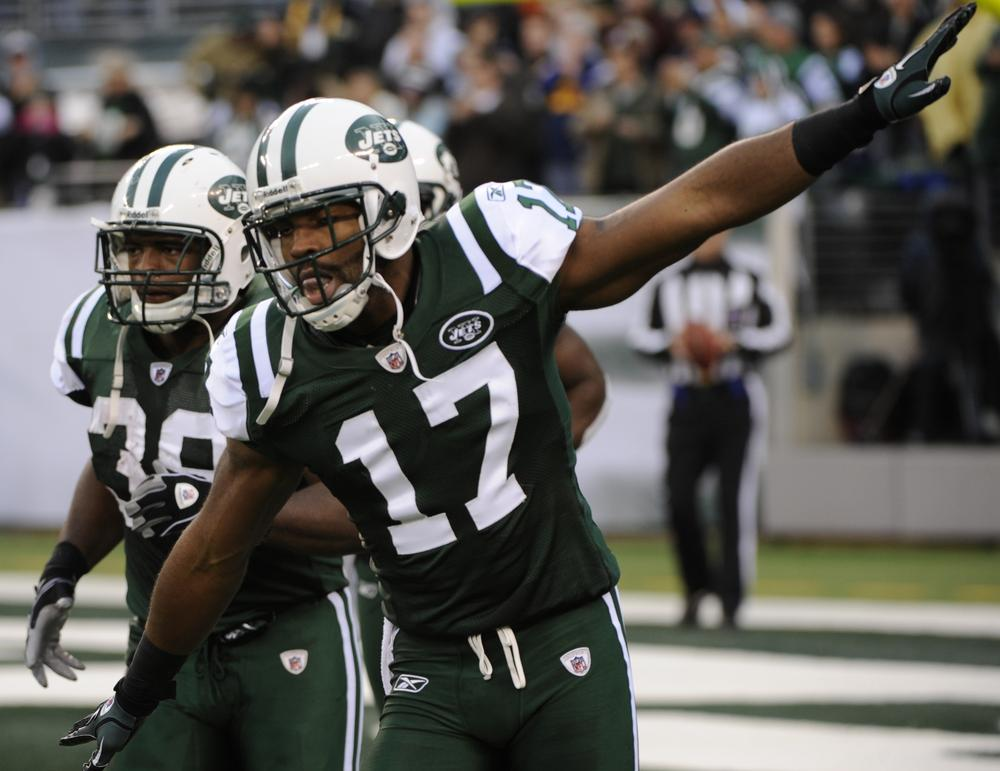 After beating the Colts and the Patriots in back-to-back weeks, Braylon Edwards and the New York Jets are going to their second straight AFC Championship Game. (AP)