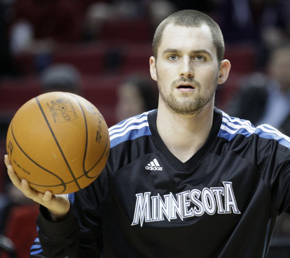 """Kevin Love has released a new cologne called """"Numb#rs,"""" in an effort to get Love into the NBA All-Star Game. (AP)"""