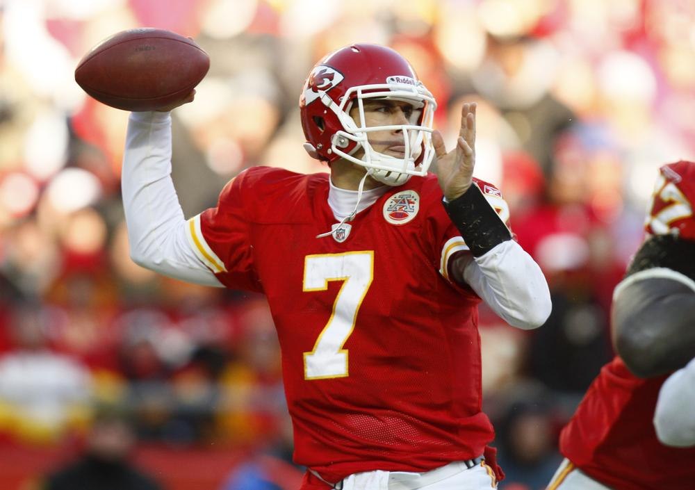 Will a new rendition of Edgar Allen Poe's most famous work help Matt Cassel and the Chiefs this weekend? Only the Ravens know. (AP)