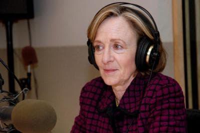 MIT President Susan Hockfield (Jesse Costa/WBUR)