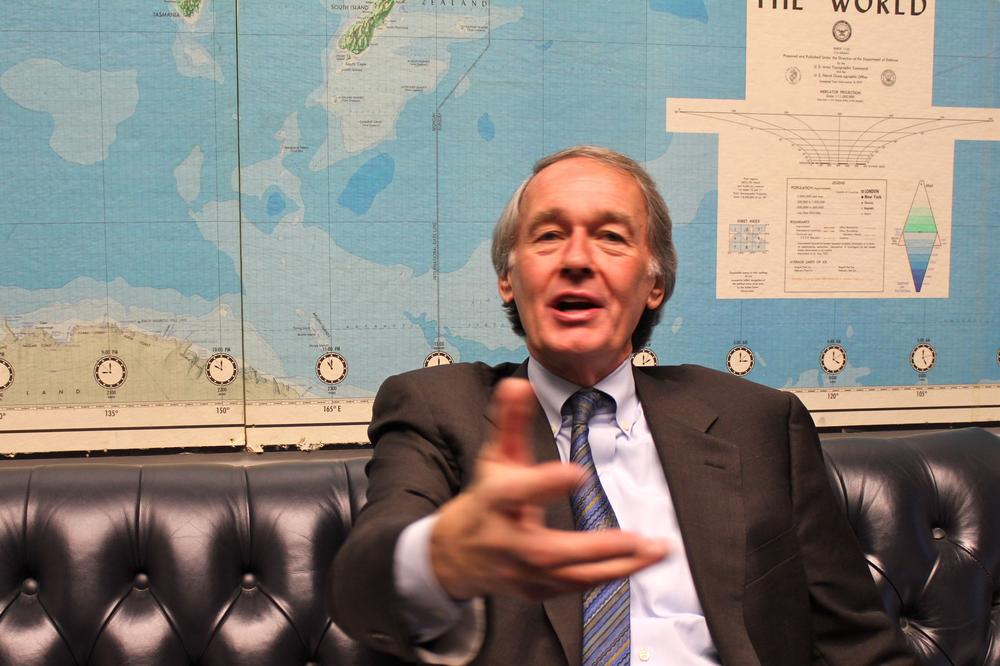 Rep. Ed Markey (D-MA) not only lost his chairmanship of a special committee on global warming, the Republicans are eliminating the panel altogether. (Lisa Tobin/WBUR)