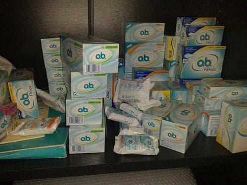 A photo from 2008, when o.b.s were still plentiful