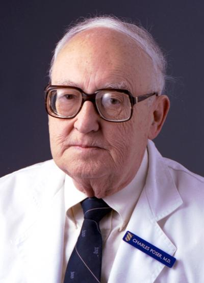 A hospital photo of Dr. Charles Poser