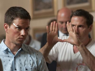 """Mark Wahlberg, left, plays Micky Ward in David O. Russell's """"The Fighter."""" (JoJo Whilden/Paramount Pictures)"""