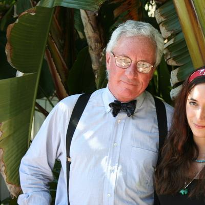 Dudley Clendinen and his daughter Whitney in 2007