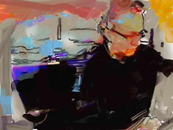 Dr. Isaac Kohane, self-portrait in digital and analog media